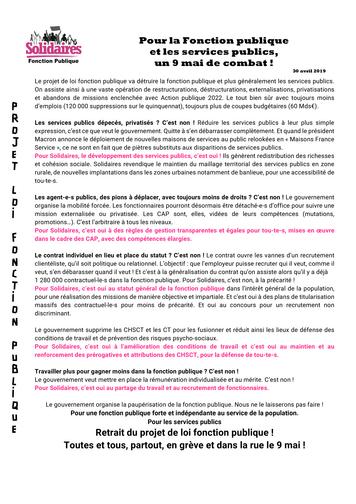 1b80d48df4c ... grève le 9 mai. Source   https   solidaires.org Pour-la-Fonction-publi…  Source   https   syndicollectif.fr tous-les-syndicats-…