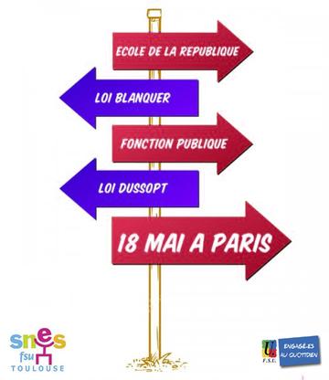 8ae2c687277 18 mai 2019  Manifestation éducation à Paris - infos pratiques