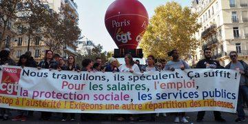 Nous appelons les organisations CGT de la capitale à «Construire tous ensemble la grève interprofessionnelle. »