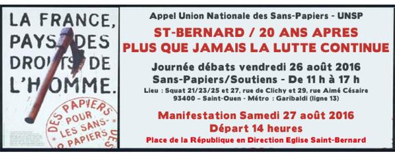 Saint-Bernard 20 ans!